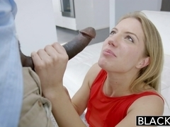 BLACKED Amateur Blonde Candice Dare Ass Fucked by Huge Black Cock