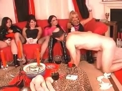 My wifes penis party