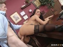 Big Tits at Work: Sex Therapist. Lisa Ann, Brick Danger
