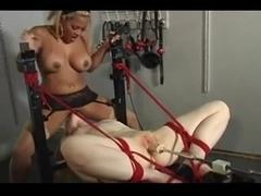 Fuck Machine & Sex Toy Torture