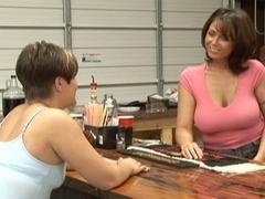 Shayna & Zander Lin in Texas Lesbian Dancer Stories #02
