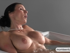 Busty mature Milf Kendra Lust punished her stepson