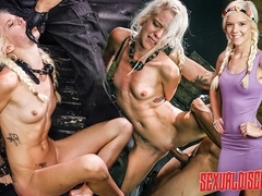 Halle Von Sexual Disgrace Spanked Stupid - SexualDisgrace