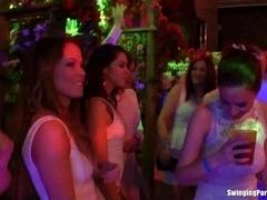 Sweet party lesbians fingering quims