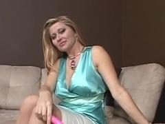 Cute mature teases cock
