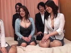 Japanese AV Models are into a hot and wild face-sitting and more