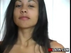 Sexy Latin Teen Being Naughty