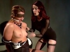 Rich Domme Mecilessly Uses Big Booty Squirter