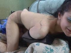 PantyhoseJobs Movie: Inessa and Steve