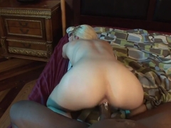 Rylie Richman takes this huge dick deep in her wet slot