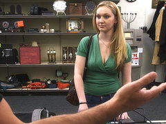 Blonde woman wants to sell her ex bfs xbox one ends up fucked