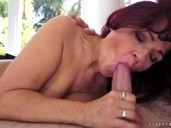 Livia in Mediterranean Granny Video