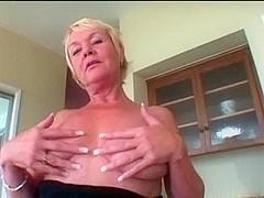 Hot Blond Granny R20