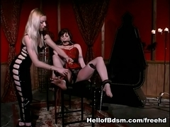 Mistress Erzsebet, Alsana Sin in Bound to submit scene 2