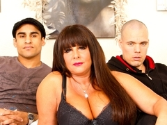 Busty mature slut Cassidy Exe double penetrated