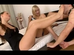 FFM three-some foot domination