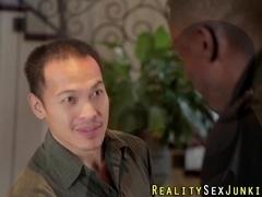 Wife fucks big black cock