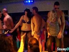 Party skanks get naked