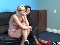 Casting Threesome With Two BBFs