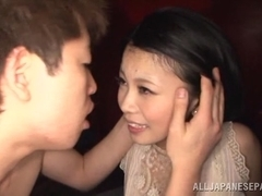 Yura Kurokawa provocative Asian milf gets hard doggy style