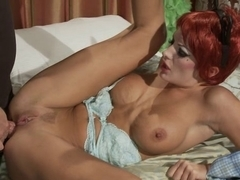 Alektra Blu anal, drilled and facialed