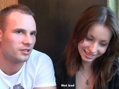 Angel acquiesced to have sex for 200 bucks in a public latrine