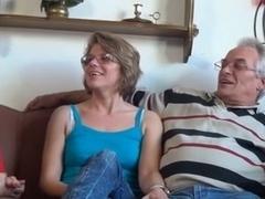 old lad and aged babes (grandad bonks grandmas)