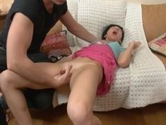 Darina in sexy chick porn featuring hard anal fucking
