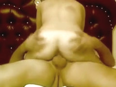 Blonde gets her hairy pussy eaten out and rides cock