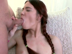 Horny pornstar Lovenia Lux in Fabulous Facial, Redhead porn clip