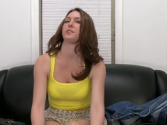 Hot brunette Desirae Wood showing us her sexy body