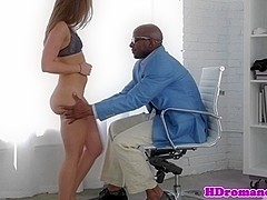 Girlfriend assfucked by her black boyfriend