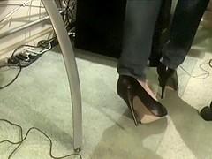 Dolce Vita Platform High Heels Dangle