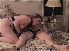 My lustful wife treats my swollen dick like a lollipop