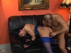 Mature honey fucks and sucks then swallows hot cumshot