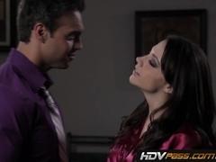 Chanel Preston Seduces Lucky Guy In Bedroom