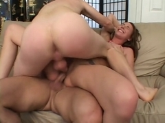 7 mins of double vaginal