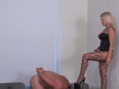 Horny pornstar in Incredible Foot Fetish, Blonde porn scene