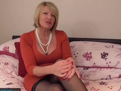 EUROPEMATURE - Pussy of mature Amy filled with sextoy