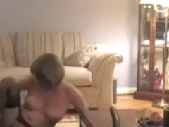 Curvaceous mature mom pokes her love tunnel with sex tool