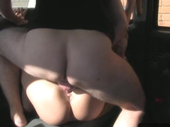 Busty euro amateur assfucked and facialized