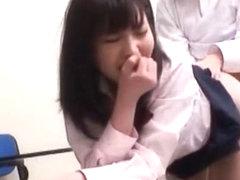 Horny Japanese whore Kotomi Asakura, Nanaka Kyono, Yuuko Anzai in Hottest College/Gakuseifuku, Dog.