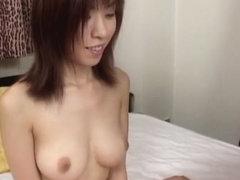 Crazy Japanese model in Hottest Uncensored, Blowjob/Fera JAV clip