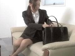 Classy Jap dicked deep in hidden cam Asian sex video