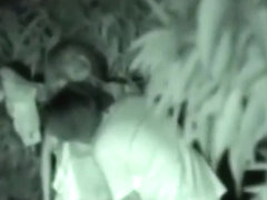 Horny couple caught during night