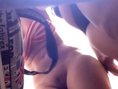 Sexy piercing and sweet bald pussy on astonishing vid