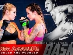 Joanna Angel & Kleio Valentien & Small Hands in Ronda ArouseMe - Round 4 Scene