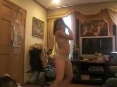 Hypeladii dancing in bra & panties