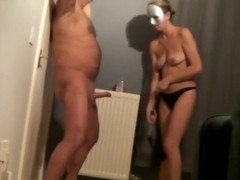 This amateur fetish video shows that I was boning my hon from behind, before she started whipping .