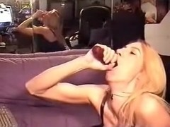 My throat is bottomless and insatiable. I  suck dicks like professional sword-swallower